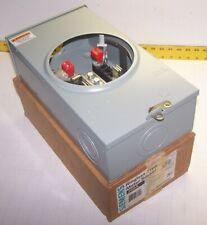 ANCHOR URA1394BK4-HPM-SS 200 AMP METER SOCKET