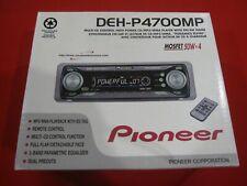 Pioneer Deh-P4700Mp Car Cd/Mp3/Wma Player/Receiver with Remote Fm/Am Radio 50W
