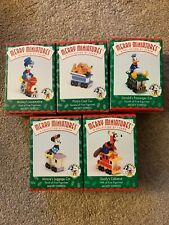 Hallmark Mickey Express 1998 Disney Train 100% Complete Lot Set of 5 New in Box