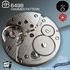 MOVEMENT ETA UNITAS 6498, HAMMER PATTERN, NOS,  SMALL SECOND 6H