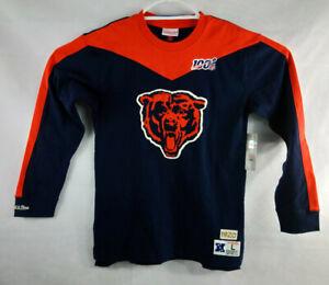 Chicago Bears Mitchell & Ness NFL 100 Team Inspired Long Sleeve T-Shirt Men's