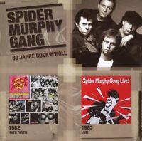 """SPIDER MURPHY GANG """"TUTTI FRUTTI + LIVE"""" CD NEUWARE"""