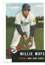Willie Mays (1953 reprint) 1991 Topps Archives #244