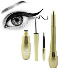 Waterproof Makeup Beauty Black Eyeliner Liquid Eye Liner Pen Pencil Cosmetic Set