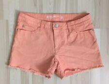 Cubus Peach/Pink Denim Shorts (US 8, Euro 38)