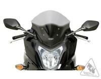 "MRA RacingScreen Windshield ""R"" For Honda CBR650F '14-'18 - Smoke Gray"