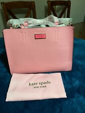 KATE SPADE MEDIUM SATCHEL TOTE/CROSSBODY With DUSTBAG ROCOCO PINK NWT