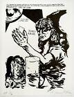 Raymond Pettibon: Untitled (Hold a Blush...) 2018. Signed, Numbered, Art Print