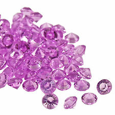 Wedding Table Scatter Diamond Lilac Crystals Decorations  Party Celebrations