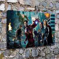 Marvel Avengers Movie Poster Paintings HD Canvas Print Home Decor Wall Picture