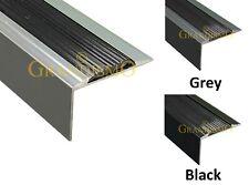 Aluminium Stair Nosing Edge Trim Step Nose Edging Nosings Carpet