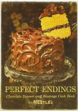 Perfect Endings - Chocolate Dessert And Beverage Cook Book Spiral-bound – 1962