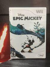 Nintendo Wii Disney Epic Mickey Video Game