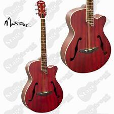 MARTINEZ JAZZ HYBRID SMALL BODY ACOUSTIC CUTAWAY GUITAR  MJH-3C-TRD *BRAND NEW*