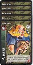 Jane Sims x5 Tzimisce 3rd Ed