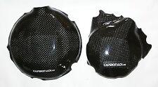 Ktm 450 500 EXC smr SX XC 2012-2016 2x carbon embrague tapa lima tapa cover