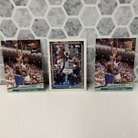 Lot (3) Shaquille O'Neal RC 1992 Topps #362 (1) & 1992-93 Fleer Ultra #328 (2)