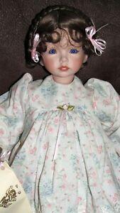 Dianna Effner Porcelain Doll artist doll 19''