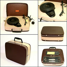 Vintage 1960's HMV CALYPSO Portable Turntable