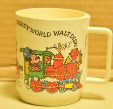 Vintage deka Walt Disney World's Children's Mug Train