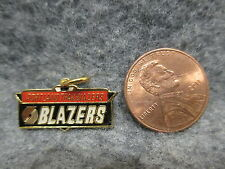 Portland Blazers Basketball NBA Logo Enamel Pendant Charm Peter David 1992 NOS