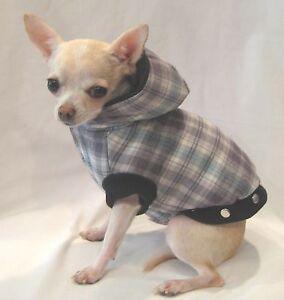 Dog coat/dog clothes/Snuggle Flannel Dog Coat/SIZE XS ONLY! FREE SHIP!