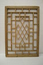 Chinese Antique Wood Carving Panel Window Shutter Wall Art Home Decor DE03-03