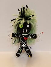 Authentic Voodoo doll real Mint Green stitch 7 pins guide new orleans hoodoo