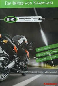 Prospekt Kawasaki Programm 2007