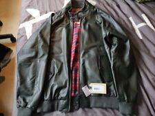 Baracuta green sheep leather G9 46 xxl New With Tags jacket harrington
