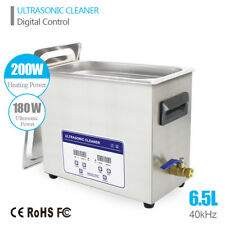 6.5L Ultrasonic Cleaner ultrasound Solution Jewelry Circuit Board Gun Parts