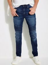 Guess Men's Slim Tapered Jeans In Abyss Wash Size 31X32