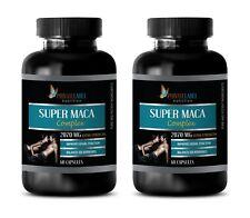endurance - SUPER MACA COMPLEX 2070mg - horny goat weed - 2 Bottles