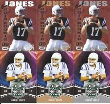 DANIEL JONES 2019 SAGE Premier Draft (6) lot base + gold + silver DUKE
