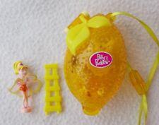 VINTAGE 2000 Polly Pocket: FRUTTA sorpresa Lemon Playset ~ 100% COMPLETO: RARE