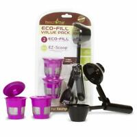 Perfect Pod 2 ECO-Fill Reusable Coffee Pods + Measure Spoon for Keurig 1.0 2.0