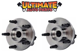Front Wheel Bearing Hubs (5 Lug) Pair Left and Right for 07-10 Pontiac G5