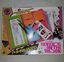 Vintage Hasbro New Kids on the Block Fashion Plates Set