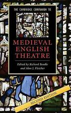 The Cambridge Companion to Medieval English Theatre by Cambridge University...