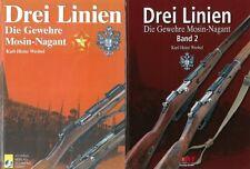 Wrobel: Drei Linien, die Gewehre Mosin-Nagant Bd. 1+2 Geschichte/Handbuch/Gewehr