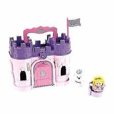 Fisher- Little People Play N Go Castle - Pink Princess