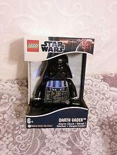Lego Star Wars Darth Vader Alarm Clock NIB !