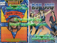 Jon BON JOVI Sambora Comic NM+ Unread 1st PRINT VHTF!!