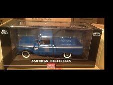 1965 Ford pickup truck BLUE 1:18 SunStar 1289