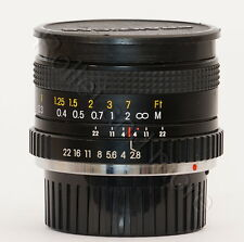 Carl Zeiss Jena II 2,8 / 24mm MC Macro #PB95600653 für Praktica B-Bajonett/mount