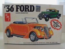 AMT - STREET RODS - (1936) '36 FORD COUPE / ROADSTER - MODEL KIT (OPENED)