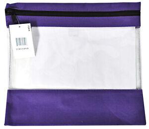Craft Caddy Bag 13 Inch By 12 Inch Purple
