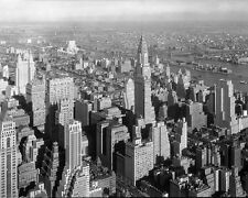 CHRYSLER BUILDING AND NEW YORK CITY 1932 8X10 PHOTO