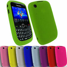 JOBLOT Bulk 50 Case For Blackberry Curve 8520 9700 Silicone Soft Cover Wholesale
