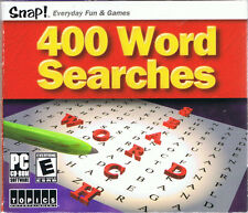 Snap! 400 Word Searches (PC, 2003, TOPICS Entertainment)